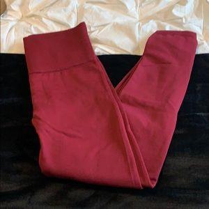 Plush lined leggings